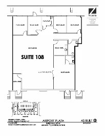 Airport Plaza - Suite 108 - 3,270 SF